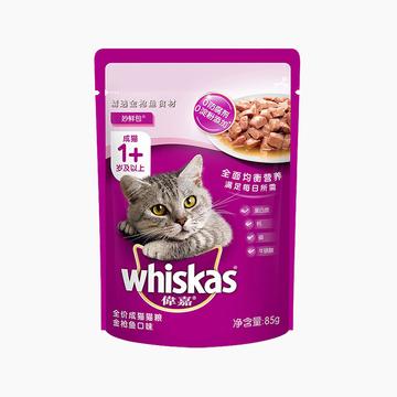 伟嘉 精选金枪鱼味成猫妙鲜包 85g 小图 (0)