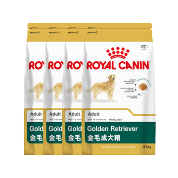 法国皇家ROYAL CANIN 金毛成犬粮 14kg(3.5kg*4) GR25 小图 (0)