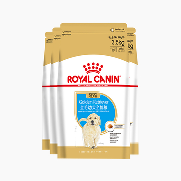 法国皇家ROYAL CANIN 金毛用幼犬粮 14kg(3.5kg*4) 小图 (0)