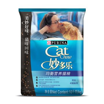 妙多乐CatChow 成猫粮均衡营养猫粮10kg 小图 (0)