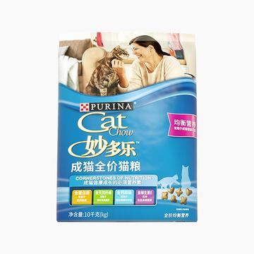 妙多乐CatChow 均衡营养全价成猫粮 10kg 小图 (0)