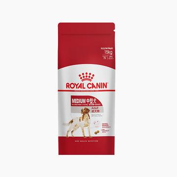 法国皇家ROYAL CANIN 中型犬成犬粮15kg M25 (新老包装随机发货) 小图 (0)