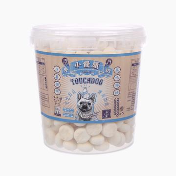 它它TouchDog 牛奶味罐装小馒头训练奖励狗零食 210g 小图 (0)