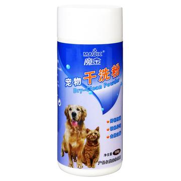 魔金  去味添香免洗宠物干洗粉 犬猫通用 100g 小图 (0)