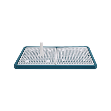 怡亲Yoken 平板网络式狗厕所便盆 带垫板不湿脚 小图 (0)