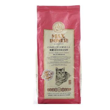 豪爵 全期猫粮超级挑嘴海鲜鸡肉猫粮3kg 加送300g 小图 (0)