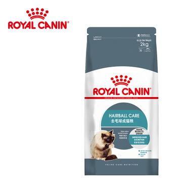 法国皇家ROYAL CANIN 去毛球成猫粮2kg IH34 小图 (0)