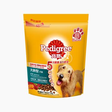 宝路Pedigree 牛肉鸡肉蔬菜老犬犬粮 1.8kg 小图 (0)