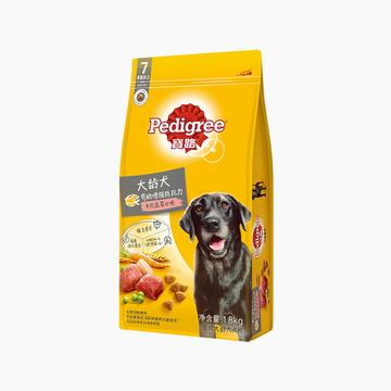 宝路Pedigree 牛肉蔬菜口味大龄犬犬粮 1.8kg 小图 (0)