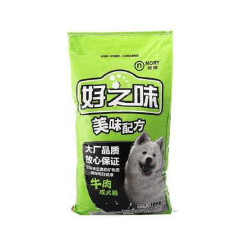 诺瑞好之味 成犬粮牛肉味狗粮10kg 小图 (0)