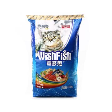 珍宝 喜多鱼成猫粮海洋鱼味猫粮10kg 超高性价比 小图 (0)