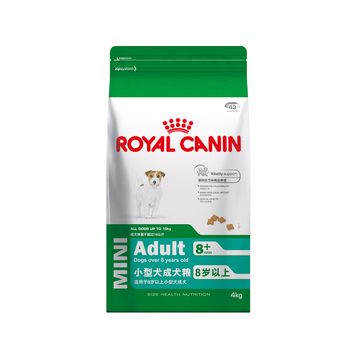 法国皇家ROYAL CANIN 8岁以上老年小型犬粮 4kg SPR27 小图 (0)