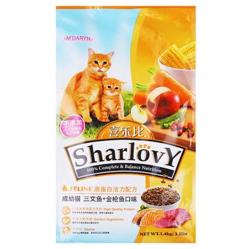 喜乐比 全期猫粮三文鱼+金枪鱼猫粮1.4kg 小图 (0)