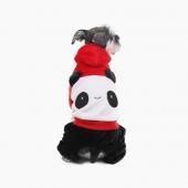 怡親Yoken狗狗加絨四腳衣 泰迪比熊貴賓秋冬保暖法蘭絨服飾
