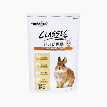 NEW AGE紐安吉經典幼兔糧1KG 替代乳配方