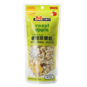Minishow迷你秀仓鼠零食香甜苹果粒30g 小图 (0)
