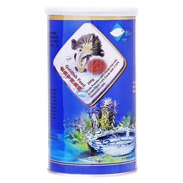 水亿方 金鱼专用鱼食 复合营养鱼粮 200g 小图 (0)
