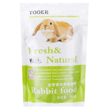 全阶段宠物幼兔粮成兔粮豚鼠粮 除臭抗球虫500g 小图 (0)