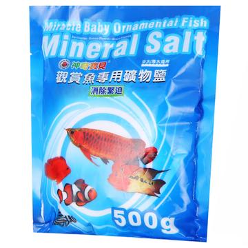 神奇宝贝观赏鱼用矿物盐500g 小图 (0)