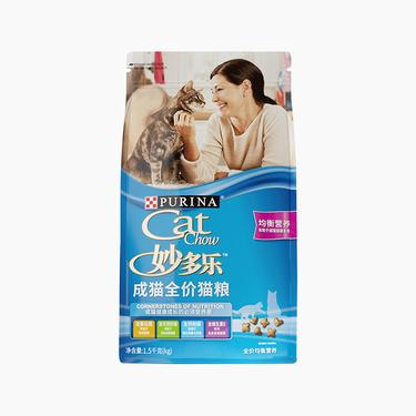 妙多乐CatChow 均衡营养全价成奇米影视盒粮 1.5kg