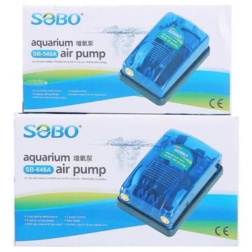 松宝双水族鱼缸气泵增氧泵充氧泵冲氧泵加氧泵 小图 (0)