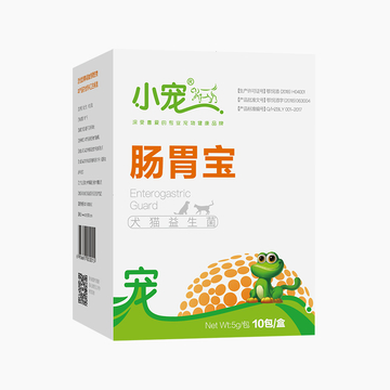 小宠EHD 犬猫肠胃宝益生菌 10包 调理肠胃促消化 小图 (0)