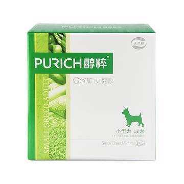 醇粹 小型成犬粮均衡营养亮毛配方天然狗粮3kg 小图 (0)