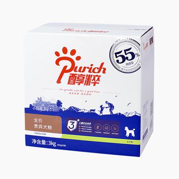 醇粹 贵宾专用全犬粮 3kg 55%肉含量 小图 (0)