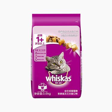 伟嘉 吞拿鱼及三文鱼味成猫粮 3.6kg
