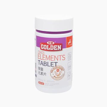 谷登Golden 微量元素片200粒 改善异食癖啃墙吃土咬尾巴 小图 (0)