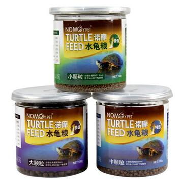 NOMO水龟粮 草龟巴西龟饲料 幼龟食物100g 小图 (0)