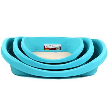 中恒 塑料宠物窝 附赠软棉垫 澡盆两用窝 小图 (0)