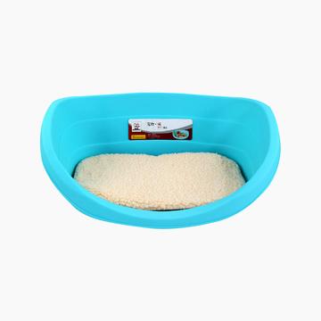 中恒 塑料狗窝赠软棉垫不粘毛睡觉洗澡两用  防潮湿 小图 (0)