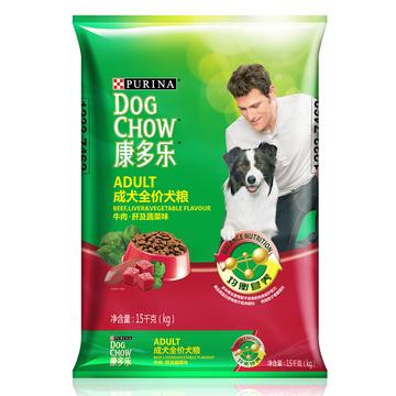康多乐 成犬粮牛肉肝蔬菜狗粮15kg 小图 (0)