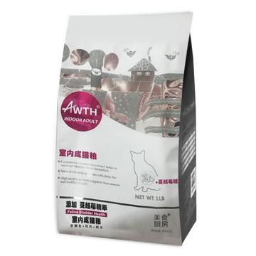 美食厨房 室内成猫泌尿道猫粮 1磅454g 小图 (0)