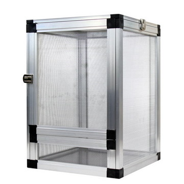 变色龙蜥蜴爬虫网箱可拼装铝合金 饲养箱32*32*46-NX05 小图 (0)