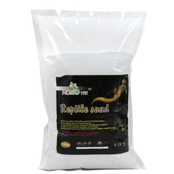 诺摩爬虫专用垫材蜥蜴蜘蛛爬沙陆龟沙1.8kg白色-ND01 小图 (0)