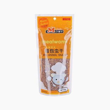 Minishow 迷你秀 小动物零食-面包虫干30g 小图 (0)