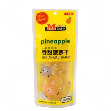 Minishow 迷你秀 小动物零食-香甜菠萝干80g 小图 (0)