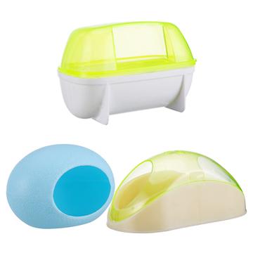 宠波尔 仓鼠浴室睡屋浴沙房厕所桑拿房 厕所容器 小图 (0)