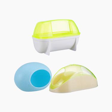 寵波爾 倉鼠浴室睡屋浴沙房廁所桑拿房 廁所容器