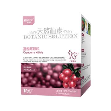 维斯康 蔓越莓尿路酸化颗粒300g 预防结石 小图 (0)