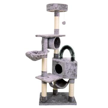 怡亲多可特 欧洲标准E1级环保板龙舌兰麻猫爬架TPCF-007 小图 (0)