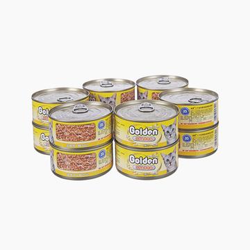 金赏Golden 金枪鱼+鸡肉丝味猫罐头170g*12罐 猫湿粮 小图 (0)