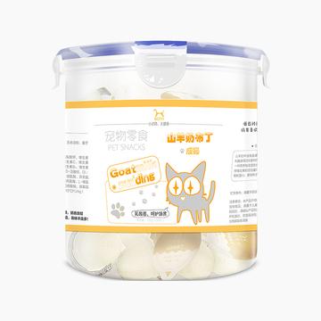 BOTH 成猫山羊奶果冻布丁营养补钙猫零食 15g*50粒桶装 小图 (0)