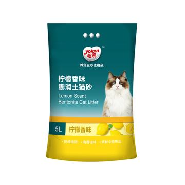 怡亲 柠檬香型膨润土猫砂(5L)4kg 小图 (0)