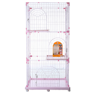 爱丽思IRIS 豪华双层三层别墅猫窝猫笼 小图 (0)