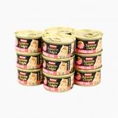 富力鮮 白身鮪魚鮭魚貓罐頭85g*12罐 原裝進口貓濕糧零食