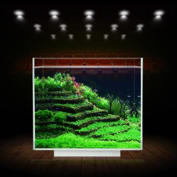 聚宝源 超白缸观赏鱼/龟/虾/草缸水族箱鱼缸 不包含照明灯 多款可选 小图 (0)