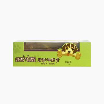 蒙贝 香酥牛棒骨小号犬用磨牙棒 单支装 健齿补钙 小图 (0)